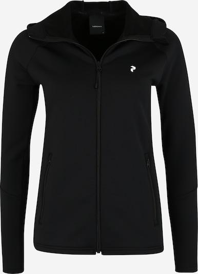 PEAK PERFORMANCE Sweatjacke 'RIDER ZIP' in schwarz, Produktansicht