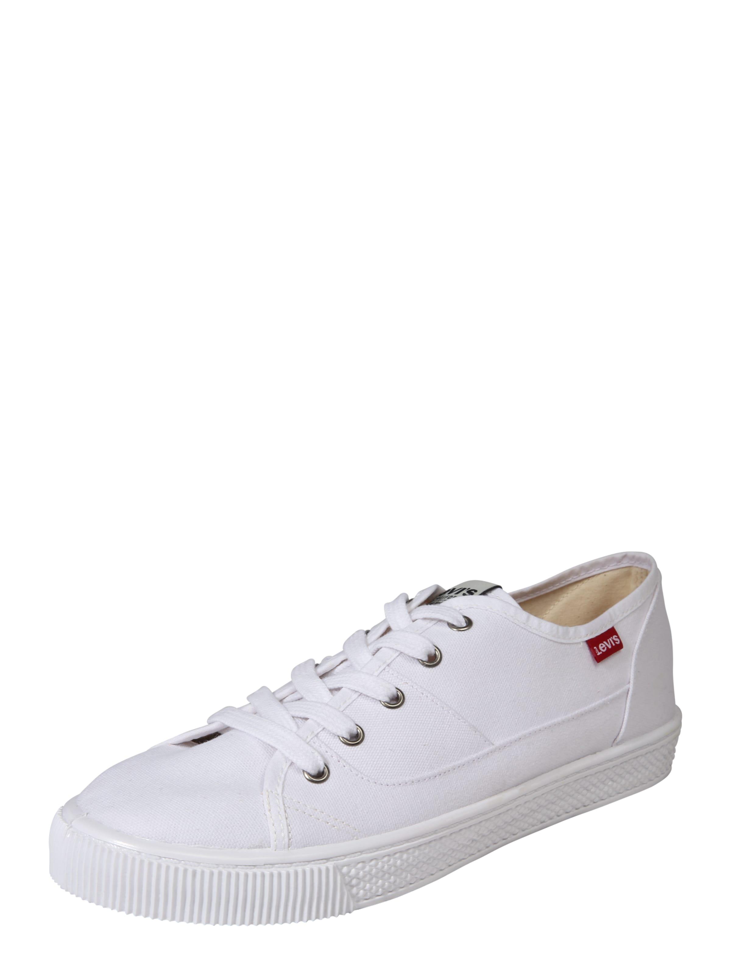 Haltbare Mode billige Schuhe LEVI'S | Canvas-Sneaker 'Malibu' Schuhe Gut getragene Schuhe