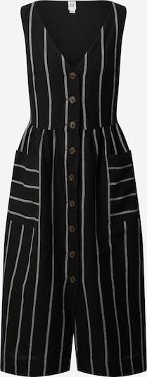 GAP Kleid 'SL BTN FRT F/F MIDI DRS - YD' in mischfarben / schwarz, Produktansicht