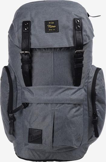 NitroBags Rugzak 'Daypacker' in de kleur Grijs / Zwart, Productweergave