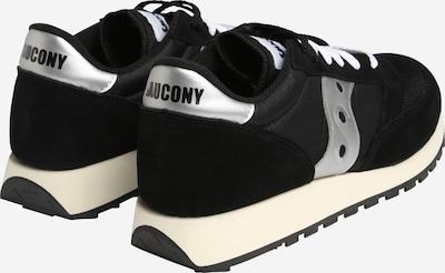 saucony Sneaker 'JAZZ ORIGINAL VINTAGE' in schwarz / weiß: Rückansicht