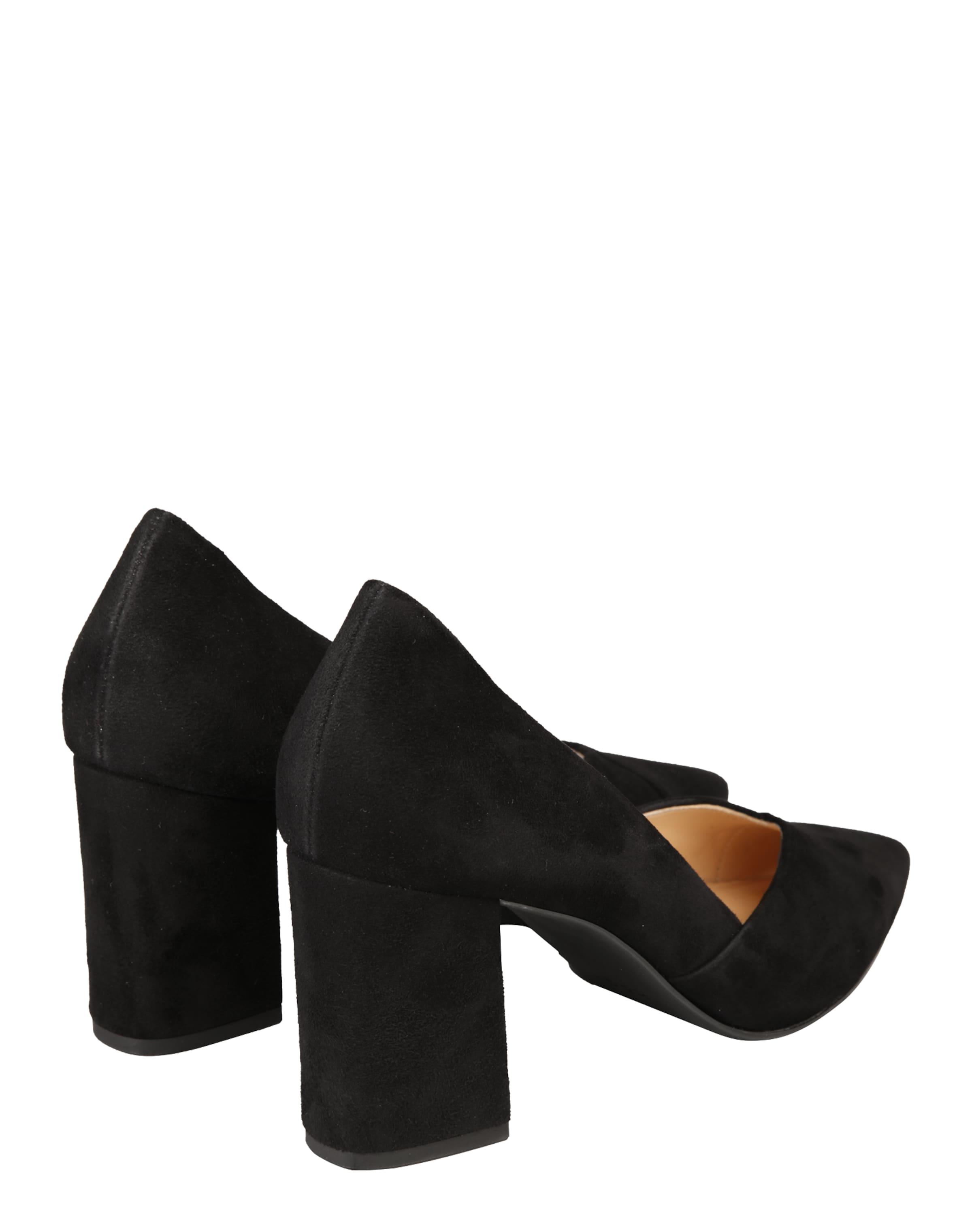 Högl 'block Heel' En Escarpins Noir bY67yfg