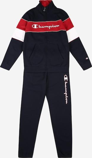 Champion Authentic Athletic Apparel Survêtement en bleu marine / rouge / blanc, Vue avec produit