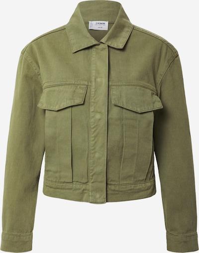 Demisezoninė striukė 'Woven' iš Tally Weijl , spalva - rusvai žalia, Prekių apžvalga