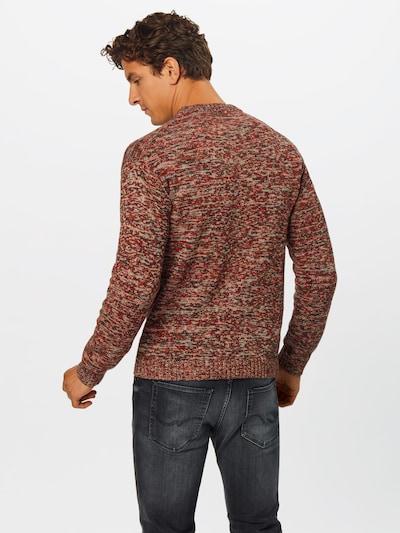 Megztinis iš SELECTED HOMME , spalva - mišrios spalvos: Vaizdas iš galinės pusės