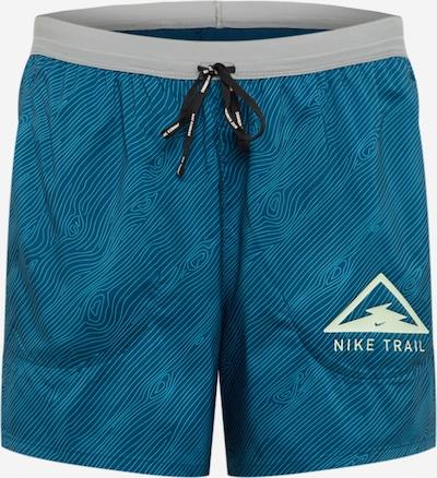 NIKE Pantalon de sport 'Flex Stride' en bleu / bleu clair / gris, Vue avec produit