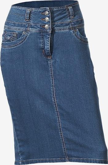 heine Bodyform-Jeansrock in blau, Produktansicht