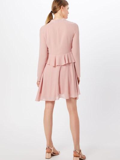 Boohoo Sukienka koszulowa w kolorze różowy pudrowym: Widok od tyłu