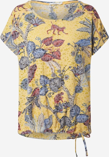 CECIL T-Shirt in gelb / mischfarben, Produktansicht