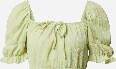 Gina Tricot Haut 'Elena' en vert, Vue avec produit