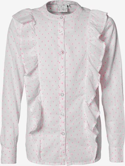 VINGINO Bluse 'Linny' in pink / weiß, Produktansicht