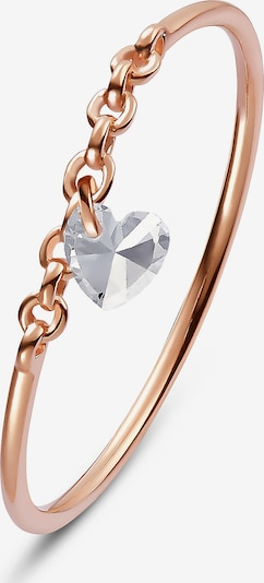QOOQI Ring 'My Valentine' in rosegold, Produktansicht