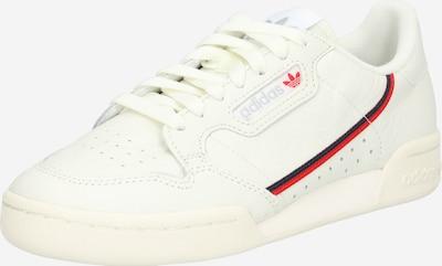 ADIDAS ORIGINALS Sneaker 'Continental 80' in rot / schwarz / offwhite, Produktansicht