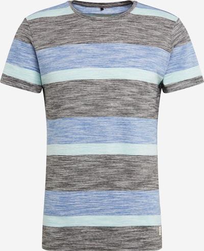 BLEND Shirt 'Tee' in de kleur Blauw / Gemengde kleuren, Productweergave