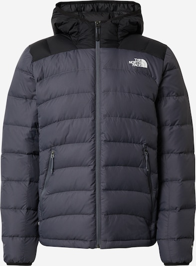 THE NORTH FACE Winterjas 'LA PAZ' in de kleur Grijs gemêleerd / Zwart / Wit, Productweergave