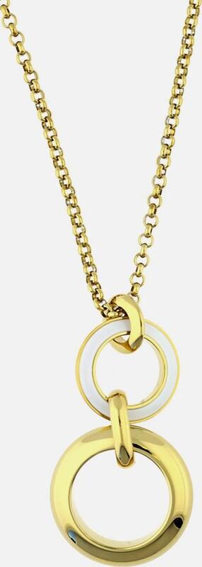 ESPRIT Halskette 'Marin' mit zweifarbigem Anhänger