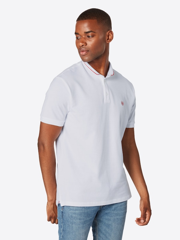 Kooples Edging' Sport 'polo And Contrasting shirt The Blanc Collar With An Officer T En DYeW29IHEb