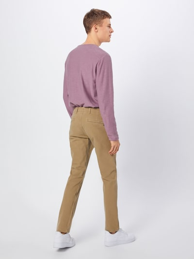 Dockers Hose 'SMART 360 FLEX ALPHA SLIM (TAPERED)' in beige: Rückansicht