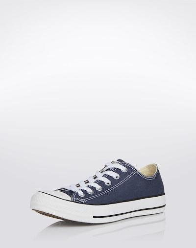 CONVERSE Sneaker 'Chuck Taylor All Star Ox' in marine / weiß: Frontalansicht