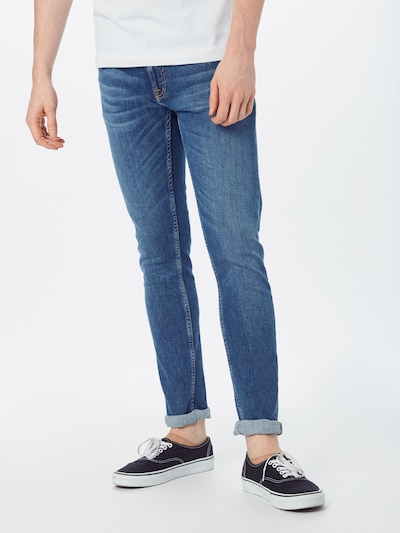 Nudie Jeans Co Jeans in blue denim, Modelansicht