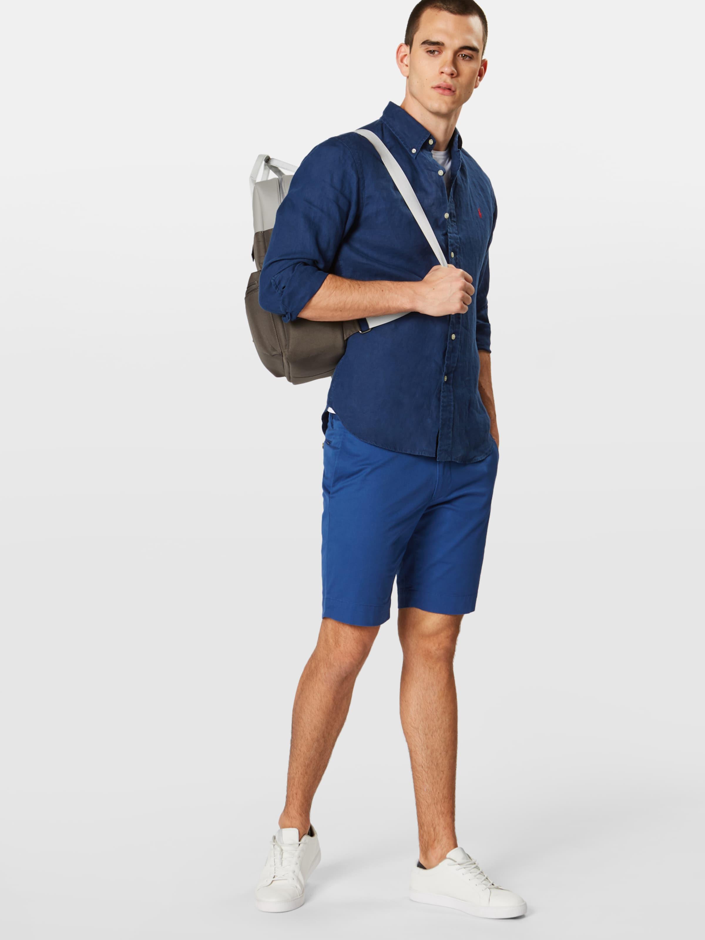 Navy Sp Ralph long Ppc Lauren Sleeve 'sl Polo sport In Bd Hemd Shirt' iZTPXOku