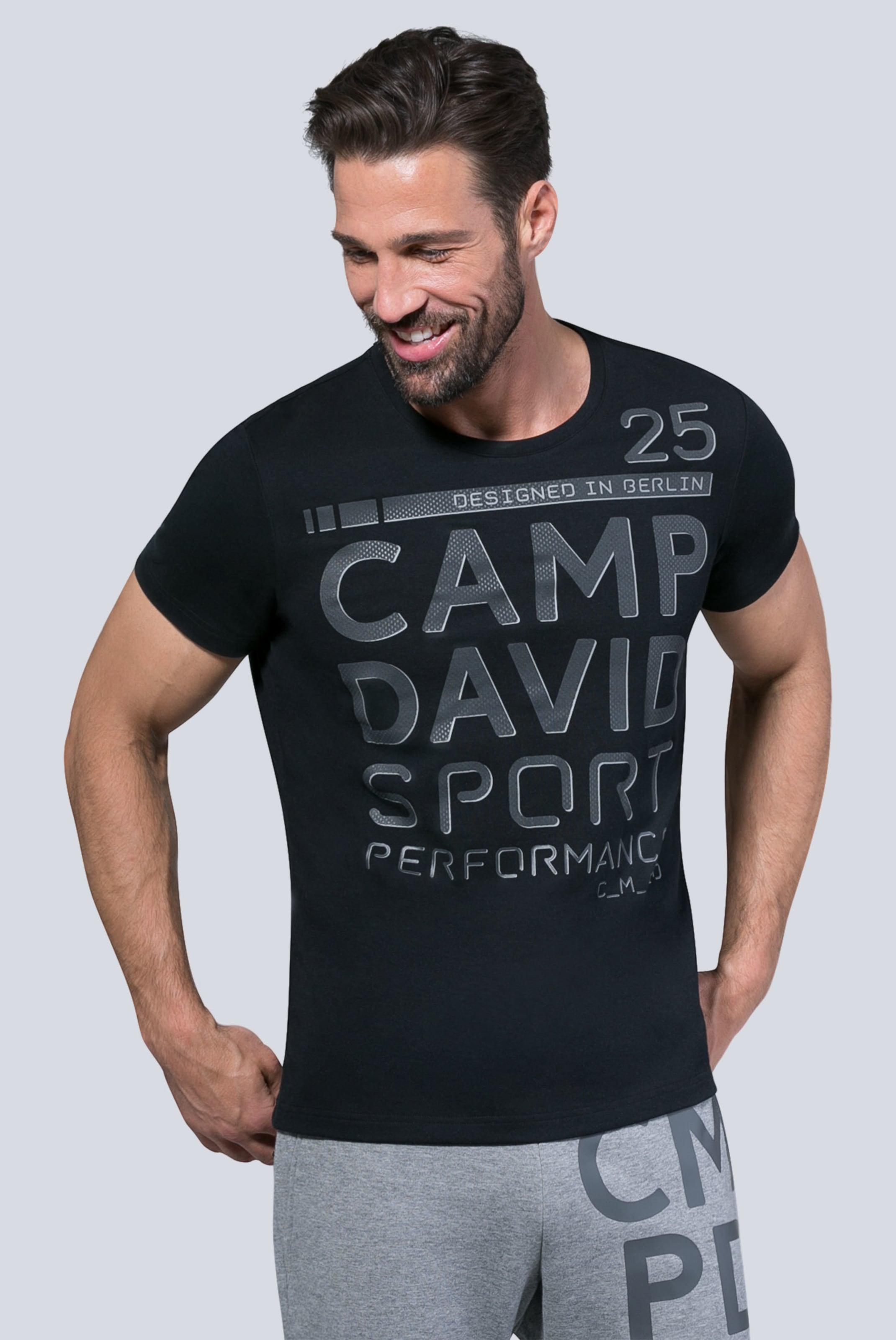 Camp David Camp Shirt In In Schwarz In Schwarz Shirt Shirt Camp David David wZXPkN8n0O