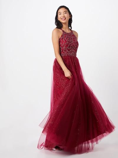 Unique Kleid in rot, Modelansicht