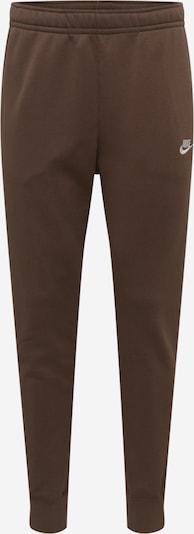 NIKE Pantalon de sport 'NSW Club' en marron, Vue avec produit