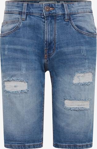 Jeans 'Kaden Holes' di INDICODE JEANS in blu