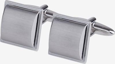 SEIDENSTICKER Manschettenknöpfe in silber, Produktansicht