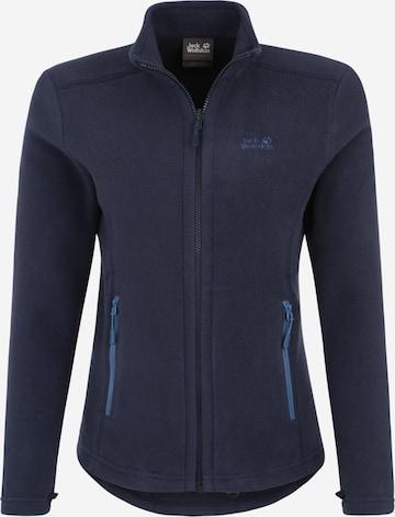 JACK WOLFSKIN Bluza polarowa funkcyjna 'Moonrise' w kolorze niebieski