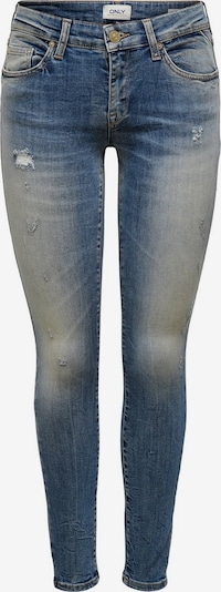 ONLY ONLAlba Reg Ankle Skinny Fit Jeans in blau: Frontalansicht