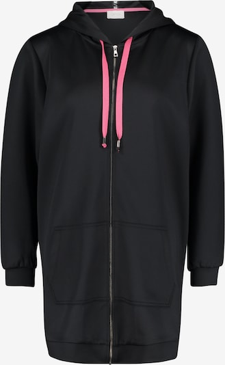 Cartoon Sweatjacke in pink / schwarz, Produktansicht