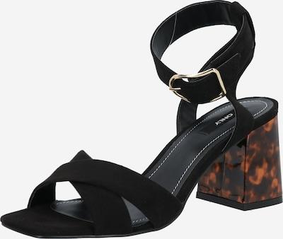 ONLY Sandale 'Amanda' in schwarz, Produktansicht