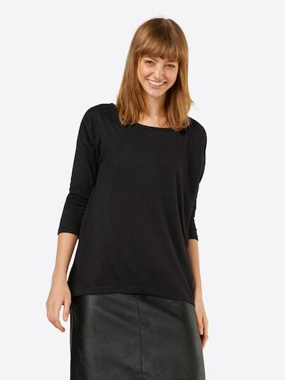 ONLY Shirt 'ELCOS' in schwarzmeliert: Frontalansicht