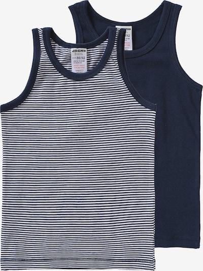 JACKY Unterhemden in kobaltblau / weiß, Produktansicht
