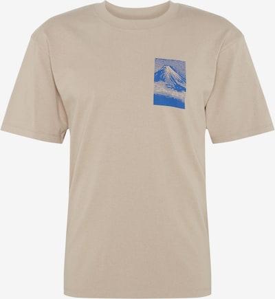 EDWIN Shirt 'From MT Fuji TS' in beige / braun, Produktansicht