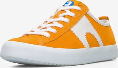 CAMPER Sneaker 'Imar' in orange / weiß: Frontalansicht