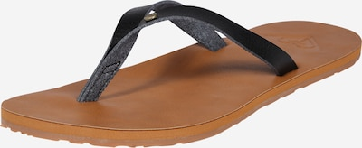 ROXY T-bar sandals 'JYLL' in Brown / Black, Item view