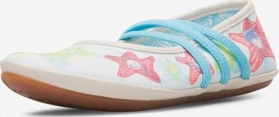 CAMPER Ballerina's 'Right' in de kleur Crème / Gemengde kleuren, Productweergave