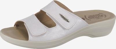 FLY FLOT Pantolette in weiß, Produktansicht