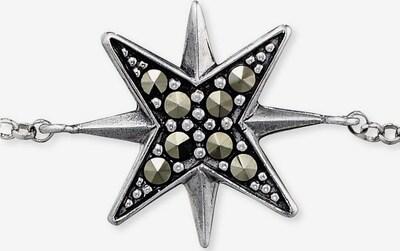 Engelsrufer Armband 'Stern' in schwarz / silber, Produktansicht