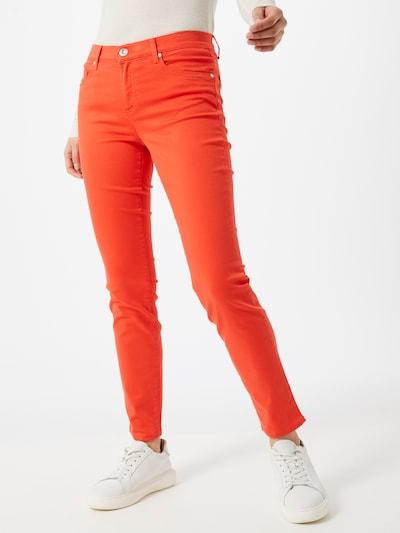 BRAX Jeans 'SHAKIRA' in orangerot, Modelansicht