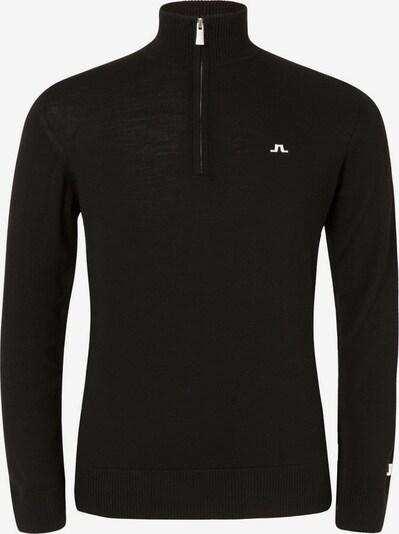J.Lindeberg Sporttrui 'Kian' in de kleur Zwart, Productweergave