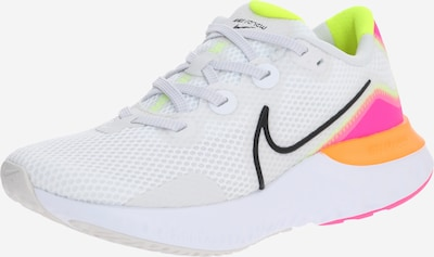 NIKE Laufschuh 'Renew Run' in orange / pink / offwhite, Produktansicht