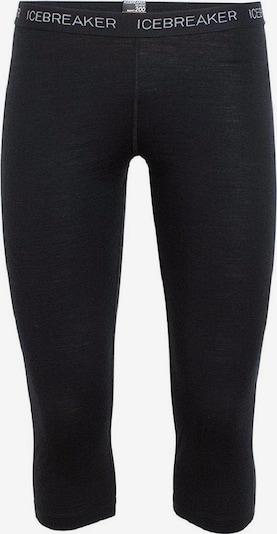 Icebreaker Sport-Hose 'Oasis' in schwarz / weiß, Produktansicht