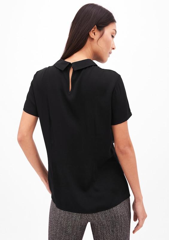 S.oliver Black Label With Short-sleeved Turtleneck