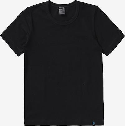 SCHIESSER Unterhemd in schwarz: Frontalansicht