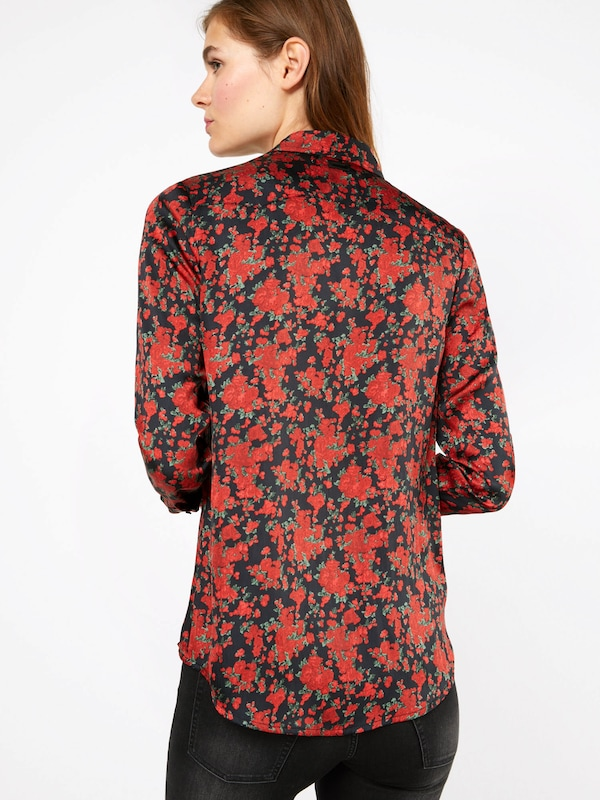 REPLAY Bluse mit Blumenprint