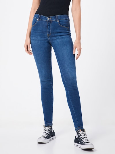 Dr. Denim Džinsi 'Lexy' pieejami zils džinss: Priekšējais skats